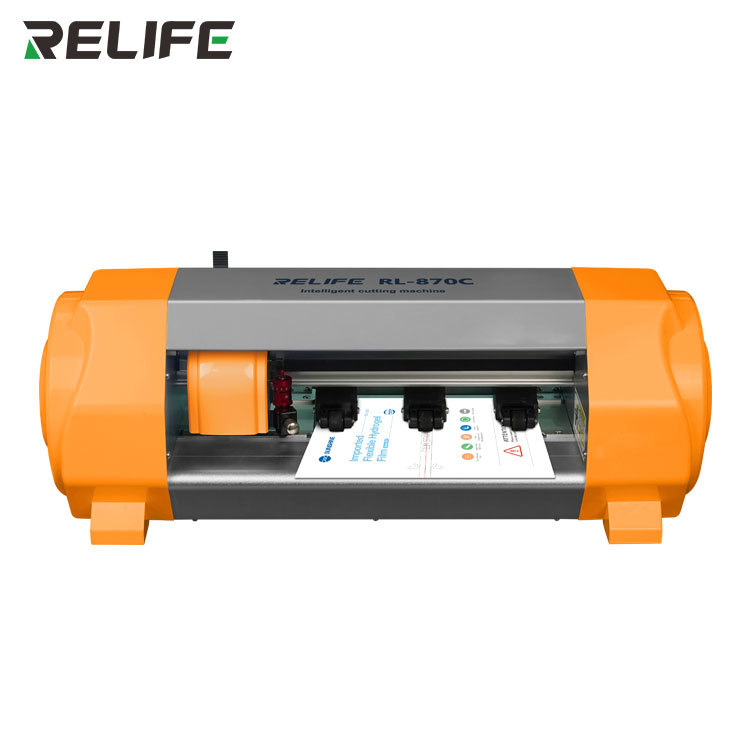 New Relife Rl-870c Auto Screen Protector Film Cutting Machine Mobile Tablet Front Back Cut Tool Sunshine Hydrogel Fimls