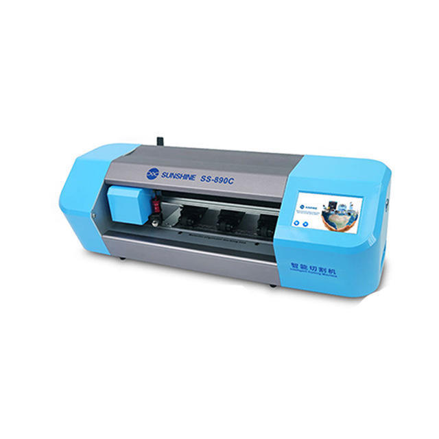 Operate Video for SUNSHINE SS-890C Auto Film Phone LCD Screen protector Cutting Machine