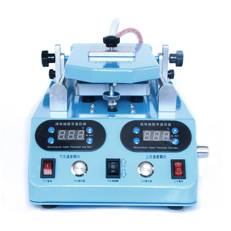 TBK 268 Automatic LCD Bezel Heating Separator Machine for Flat Curved Screen