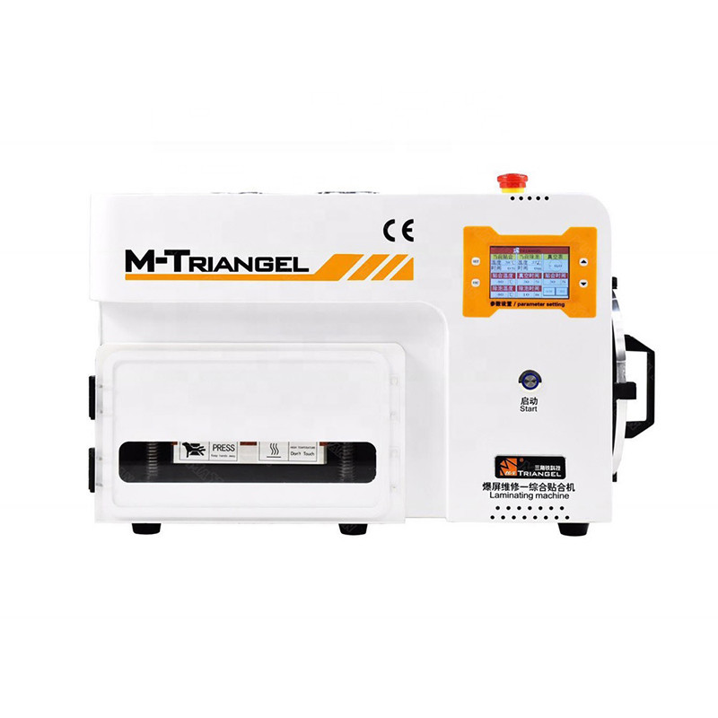 M-Triangel Curved Screen OCA Vacuum Laminating and Bubble Removing Machine
