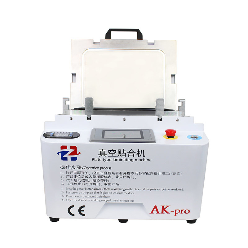 AK pro Vacuum Phone OCA Lamination Machine and Bubbles Removing Machine