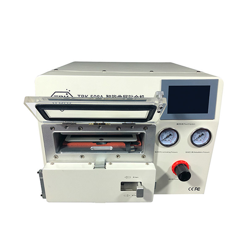 TBK 508A 5 in 1 OCA LCD Vacuum Laminating Machine With Bubble Remover Air Compressor Vacuum Pu