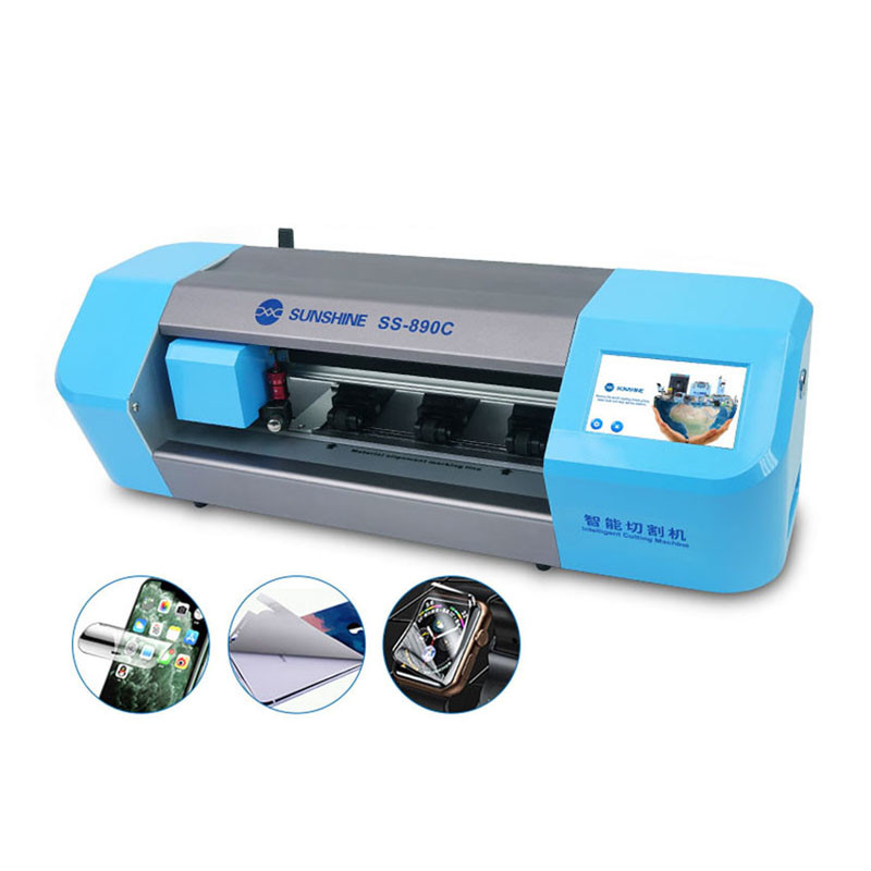Newest SS-890C Auto Film Phone Screen Protector Cutting Machine