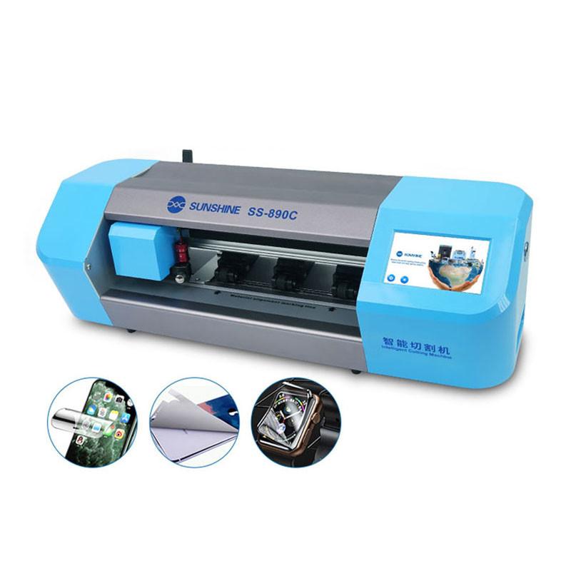 Newest SS-890C Auto Film Phone Screen Protector Cutting Machine