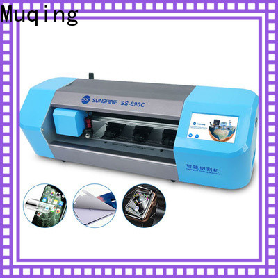 top screen protector cutting machine supply for phone repairing
