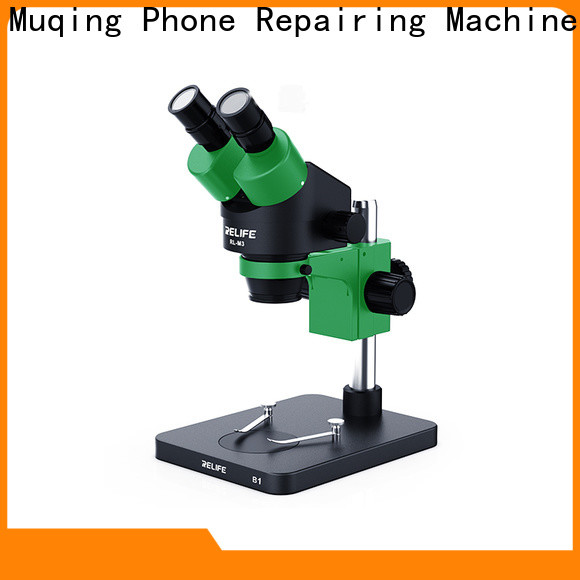 Muqing microscope machine factory for sale