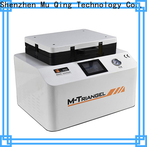 Muqing fast delivery oca laminating machine bubble remover for sale