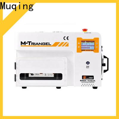 Muqing superior quality oca vacuum laminating machine bubble remover for phone repairing