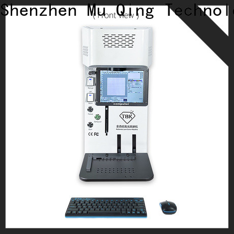 Muqing diy laser machine for mobile repairing suppliers for phone