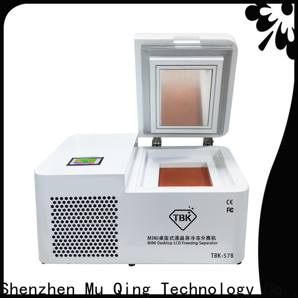 Muqing frozen separator machine company for phone repairing