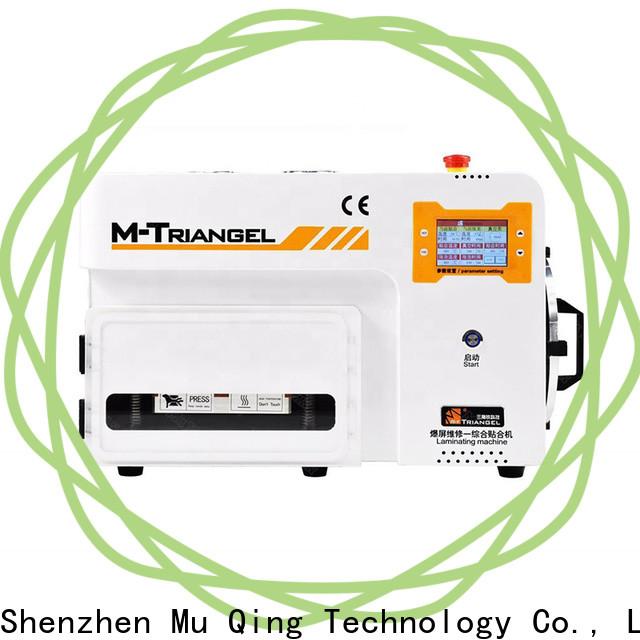 Muqing custom best oca lamination machine factory for phone