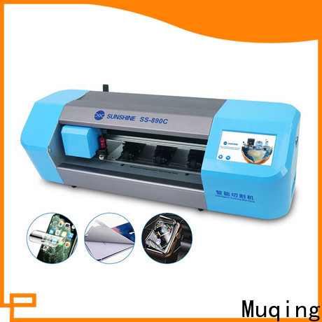Muqing mobile screen protector cutting machine manufacturers for sale