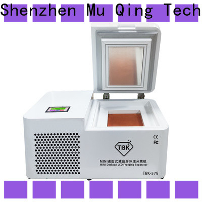Muqing good selling freezing separator machine company for phone