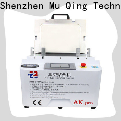Muqing oca vacuum laminating machine bubble remover for phone